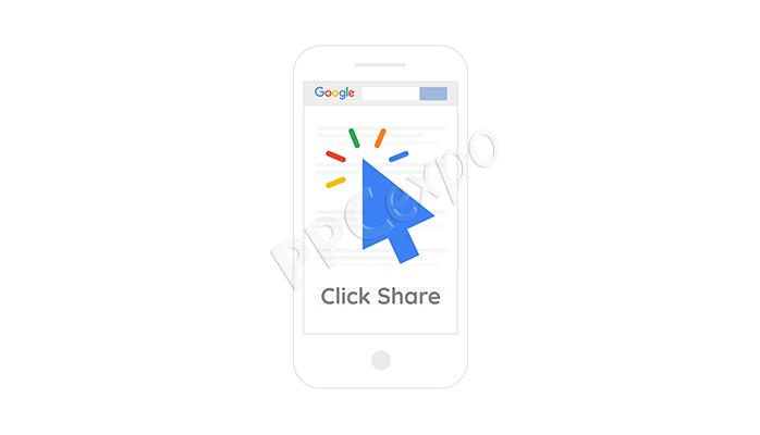 clickshare google ads