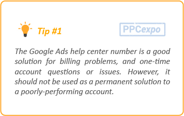 Google Ads support tips