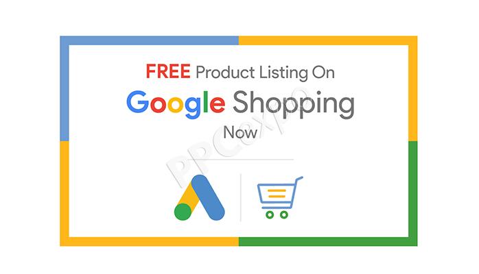 free google shopping listings