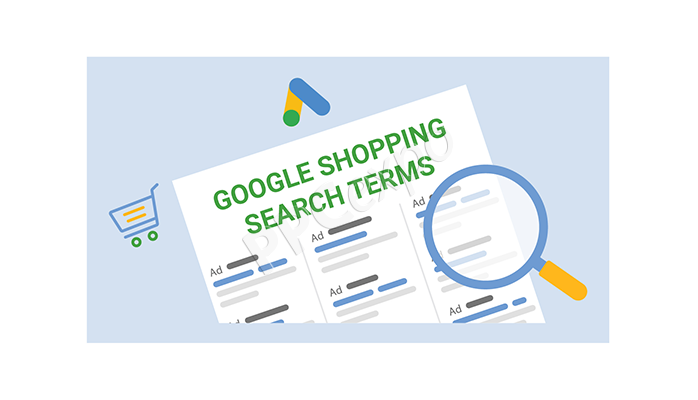 google analytics search terms report