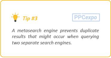 Engines meta search Meta
